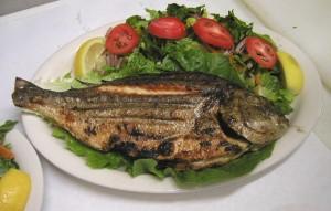 ızgara balık
