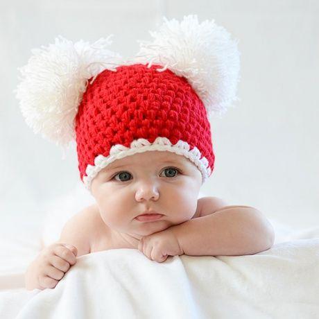 Bebek Örgü Bere Modelleri 2019